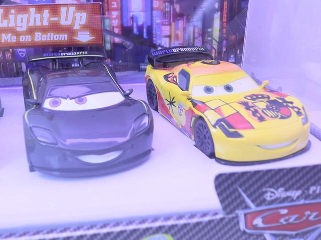 disney cars 2 disney store light up racers lightning jeff miguel lewis (3)