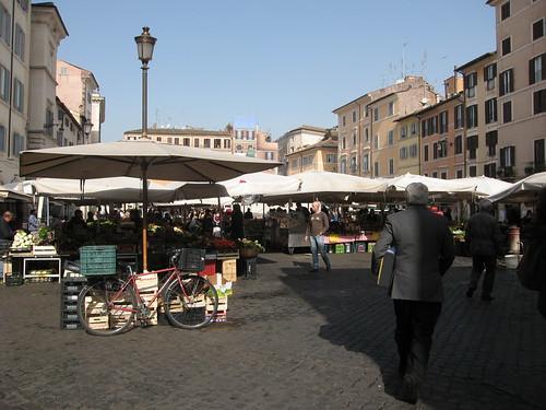 Campo de Fiori, my Italian Eastern Market
