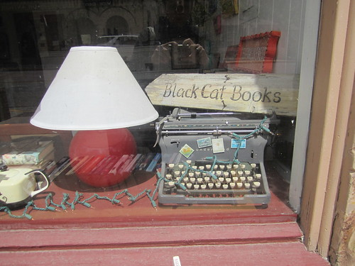Black Cat Books Typewriter