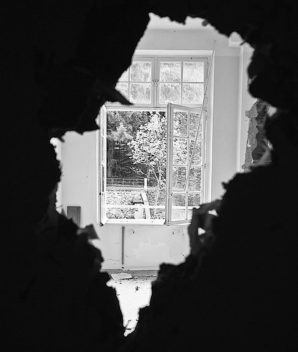 Seeing The Outside Through The Door by LilFr38