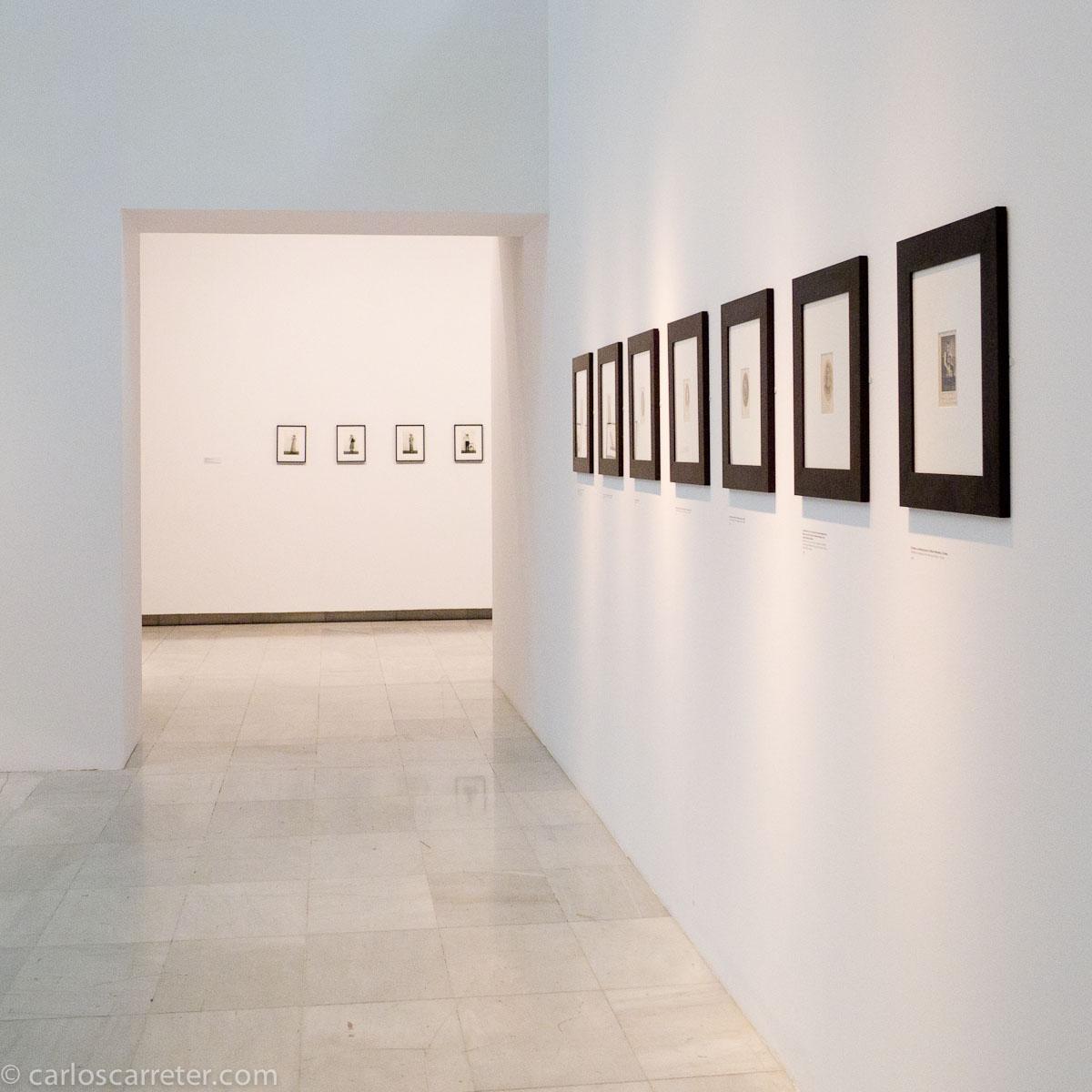 Pequeñas fotos de Cindy Sherman y Frank Montero Collado en Alcalá 31