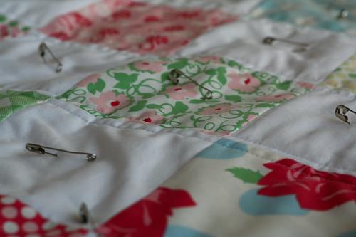 baby quilt in progress