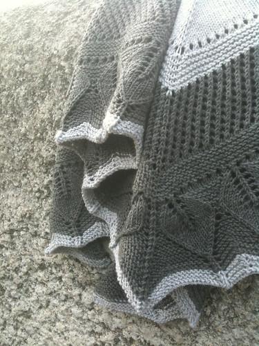 whiter shade of pale shawl