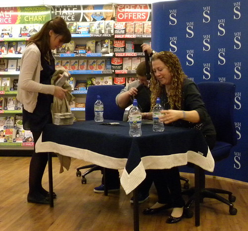 Jaime with Ellen Wilber and Jodi Picoult