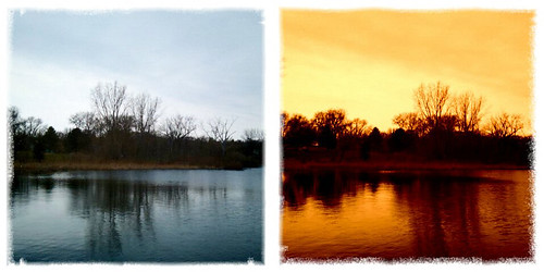 Marydale lake diptych