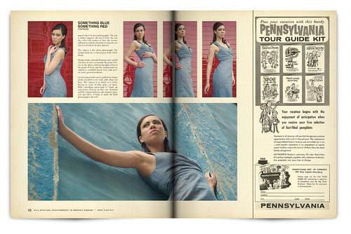 Design Project: LOOK Magazine Spread - pgs. 10 & 11