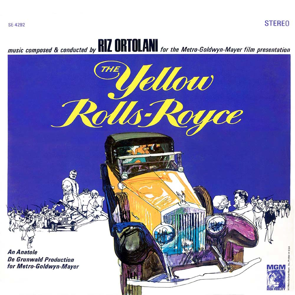 Riz Ortolani - The Yellow Rolls-Royce