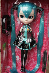 Miku pullip in the box