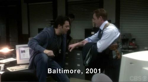 DiNozzo in Baltimore