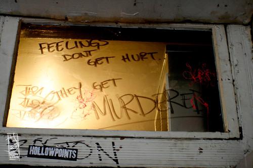 Feelings don't get hurt