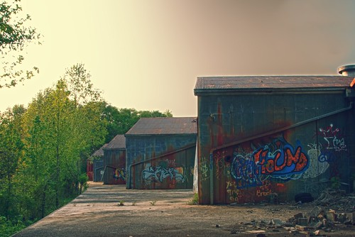 Abandoned Warehouse by MatthewOsbornePhotography