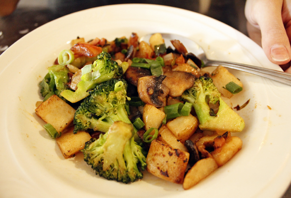 Vegetarian Skillet at Keoni By Keo's