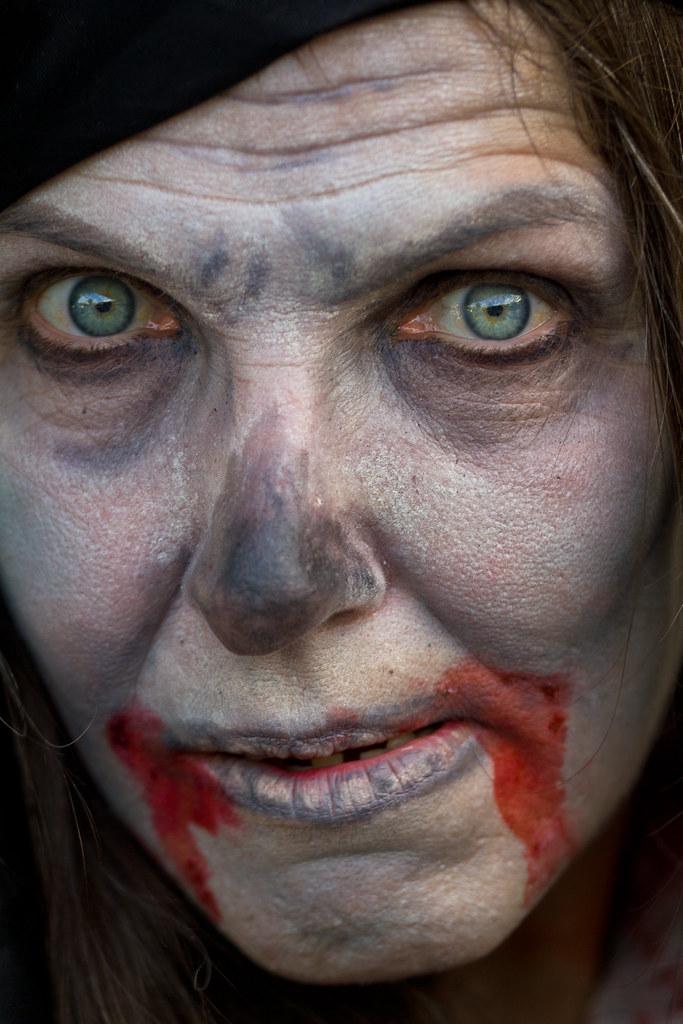Pirate zombie portrait