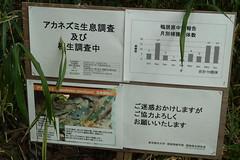 鴨居原市民の森(注意標識、Kamoihara Community Woods)