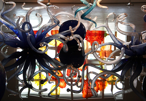 Chihuly, Reflection of Kaleidescope Window