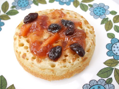 A recipe for crumpets
