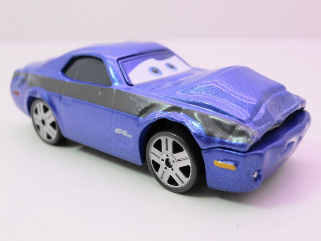 disney cars 2 movie doubles damaged rod torque redline grem 1 (2)