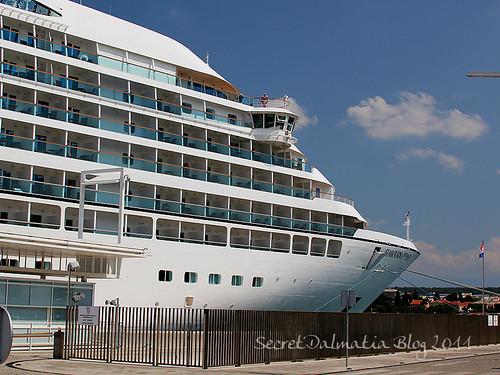 Seabourn Odyssey in Zadar
