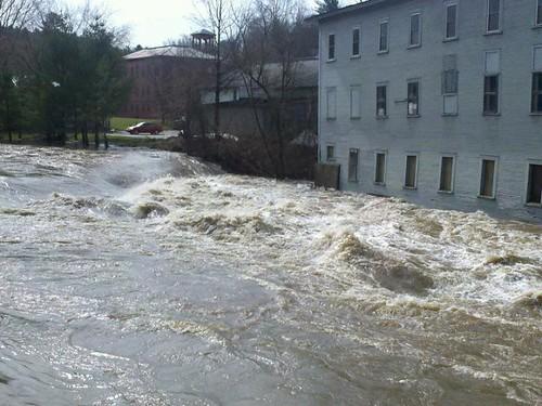 woolen mill flood