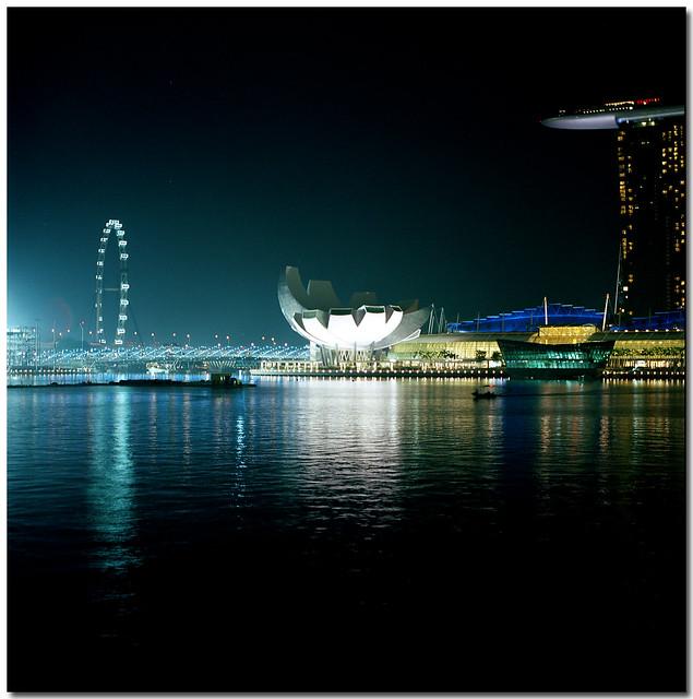 Marina Bay at Night - Singapore