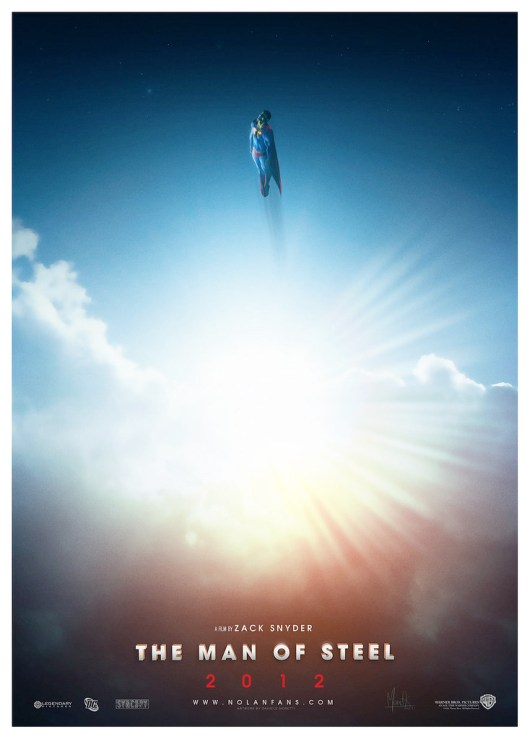 SUPERMAN : Man Of Steel (2012) [Teaser Poster]