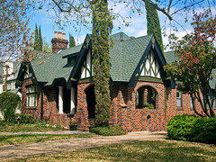 Tudor Style House in Berkeley Place Neighborhood