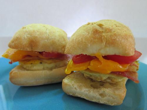Mini Eggwiches: Ready