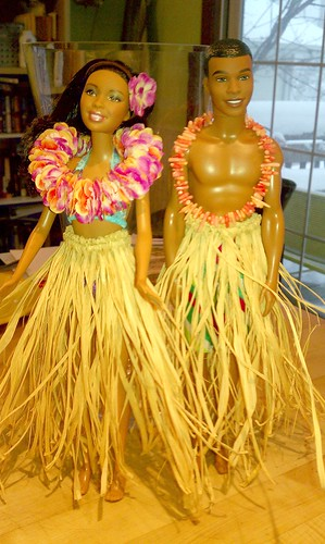 Luau Barbie (and Ken) (4/4)