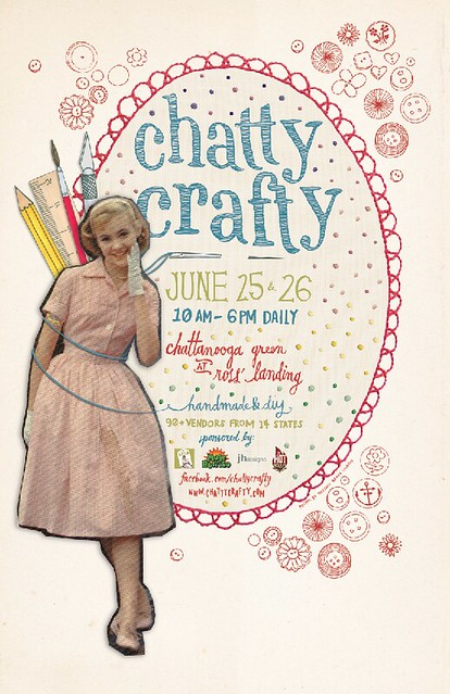 Summer 2011 Chatty Crafty Poster