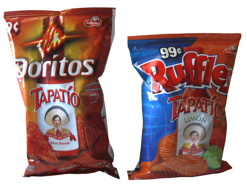 Doritos Tapatio and Ruffles Tapatio Limon