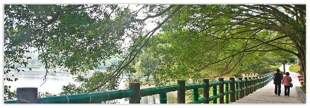 漫步青草湖