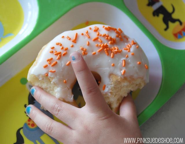 doughnuts and fingernails