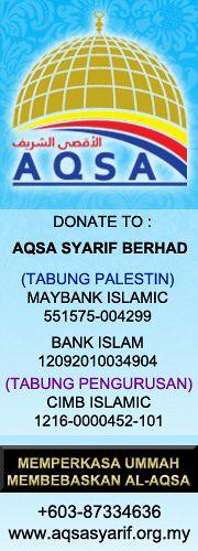 Aqsa Syarif; Hulurkan bantuan