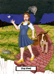 The Fool by Grand Ellessia Tarot Cards