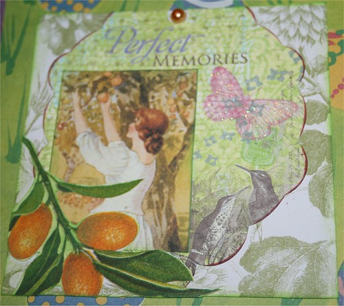 Perfect Memories Collage Card