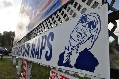 Pick Up Map for Ray Charles Childhood Home, Greenville, Fla.