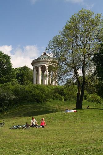 Bikes in Englischer Garten