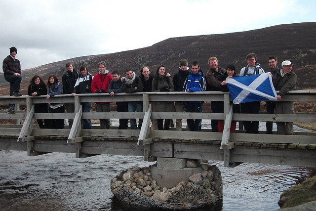 Loch Muick Group Photo