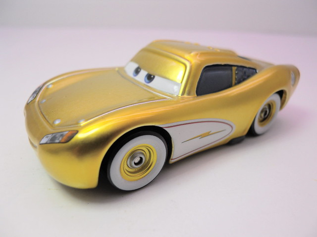 disney cars ransburg gold cruisin mcqueen