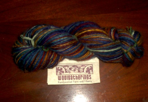 Handspun Jewelled Rainbow