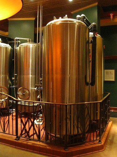 Mad Fox's Brewery Tanks