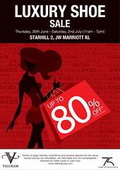Valiram Group Luxury Shoe Sale 30 Jun - 2 Jul 2011