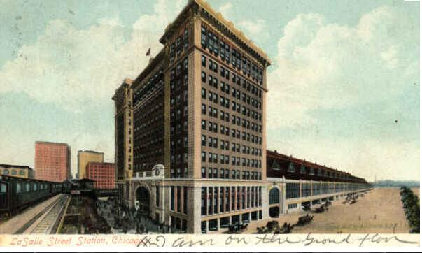 La Salle Street Station Chicago