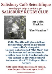Poster for Colin Macklin