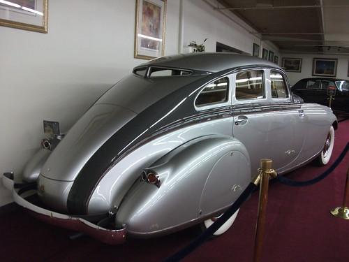 1933 Pierce Arrow Silver Arrow rear
