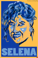 Born on 4/16: Selena (med: Acrylic Paint)