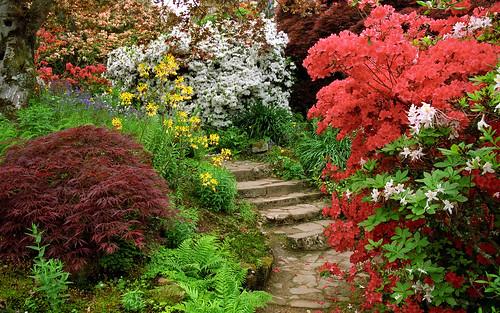 Scotney Castle Landscape Gardens, Kent, Englan...