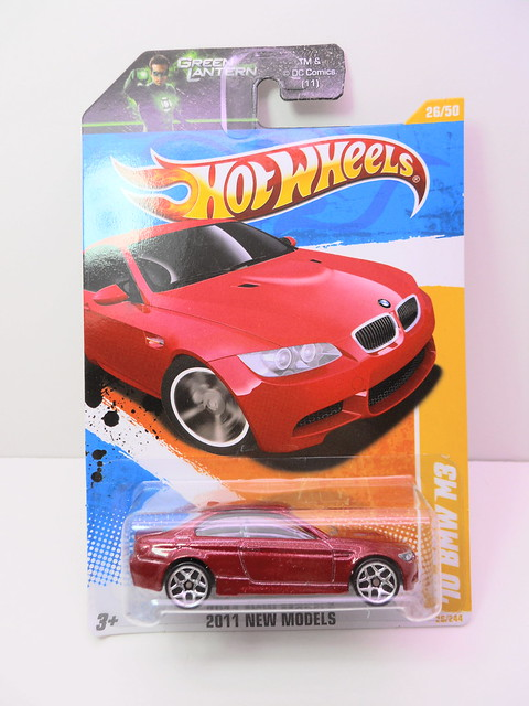 hot wheels '10 bmw m3 maroon (1)