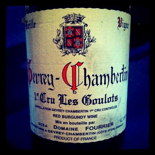 Fourrier Gevrey-Chambertin Les Goulots 1998