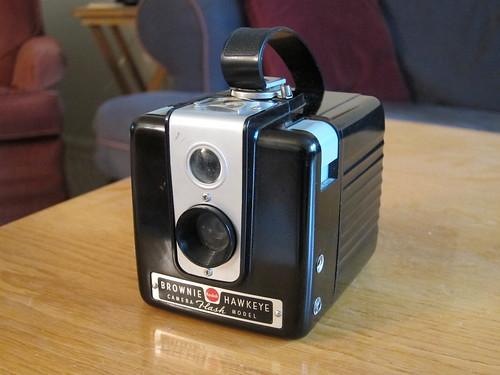 Kodak Brownie Hawkeye, Flash Model